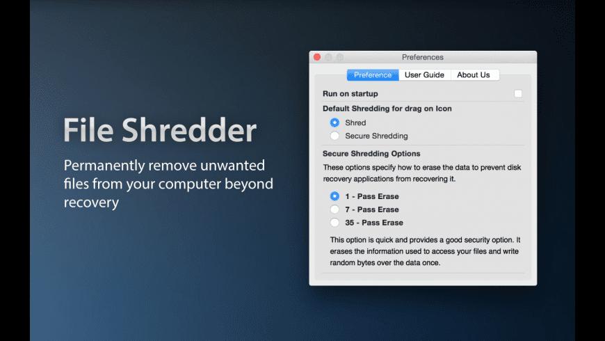 File Shredder for Mac - review, screenshots