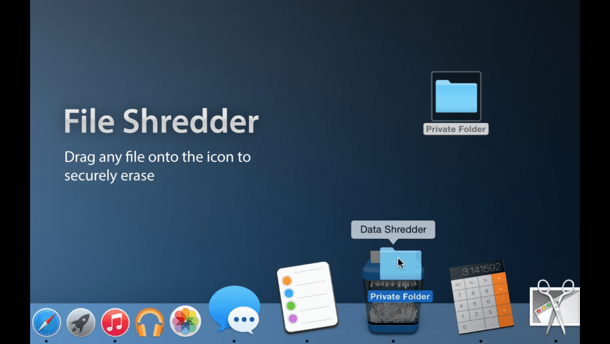 File Shredder for Mac - review, screenshots