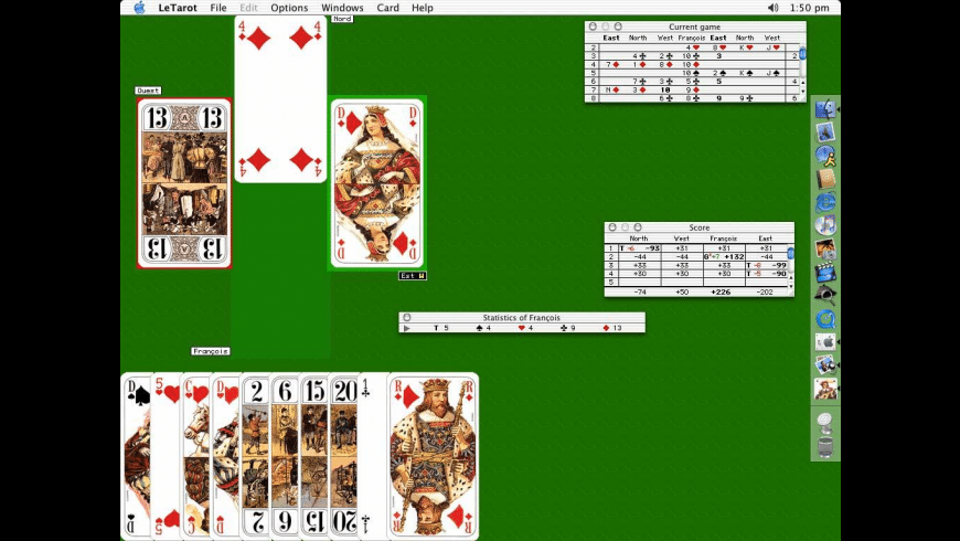 Le Tarot for Mac - review, screenshots