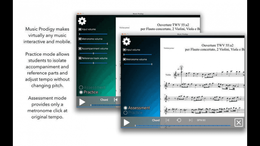 Music Prodigy for Mac - review, screenshots