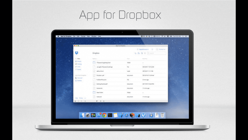 App Box for Dropbox for Mac - review, screenshots