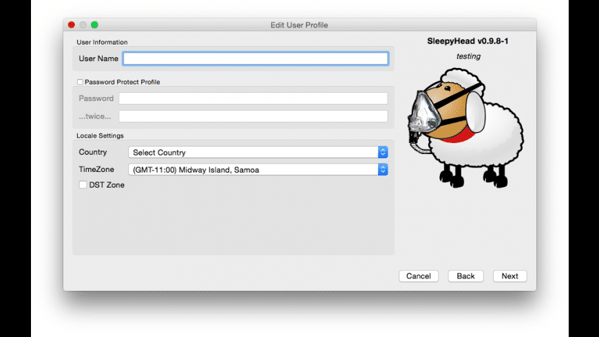 SleepyHead for Mac - review, screenshots
