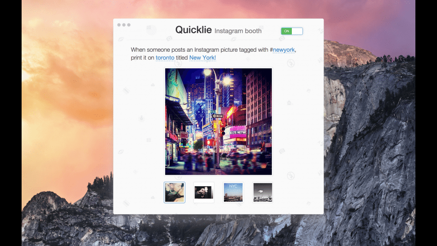 Quicklie for Mac - review, screenshots
