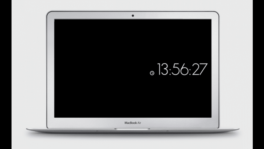 MinimalClock for Mac - review, screenshots