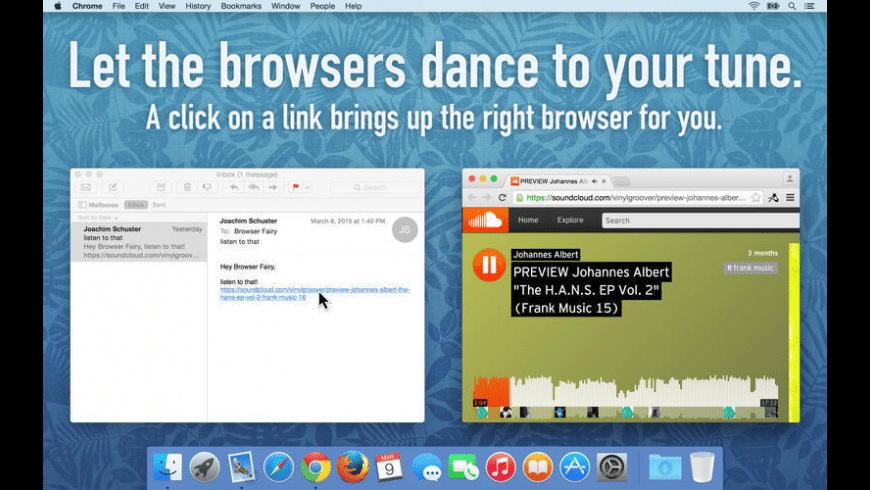 Browser Fairy for Mac - review, screenshots