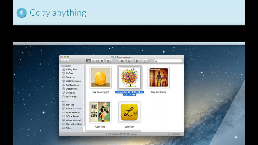 Anysend for Mac - review, screenshots