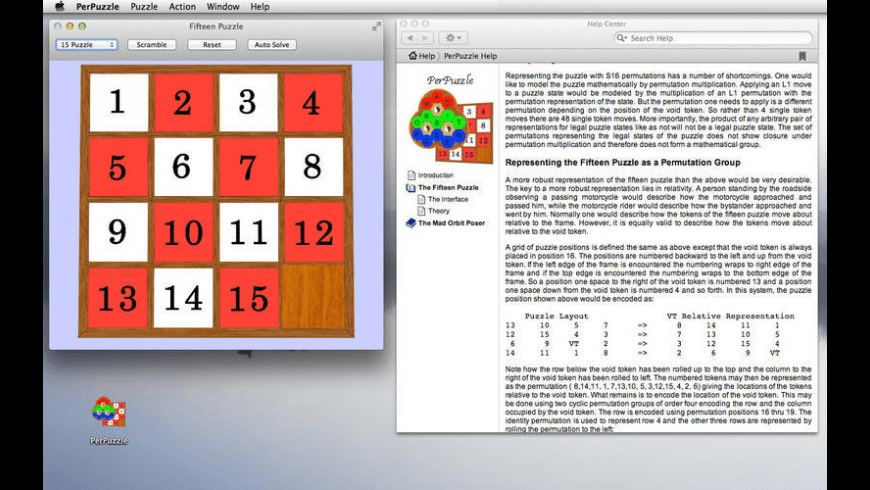 PerPuzzle for Mac - review, screenshots