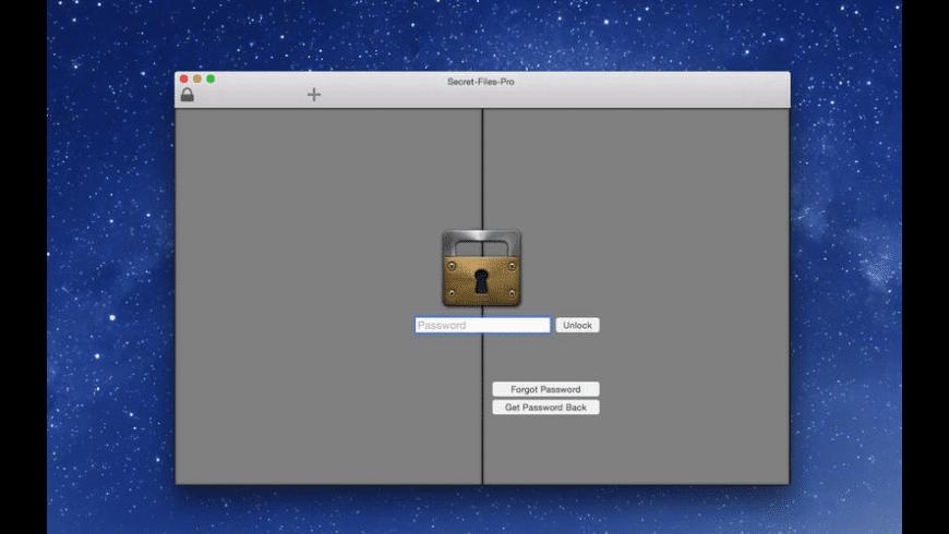 Secret-Files-Pro for Mac - review, screenshots
