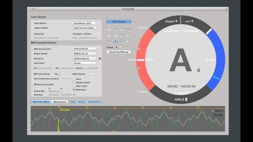 TuneUpAid for Mac - review, screenshots
