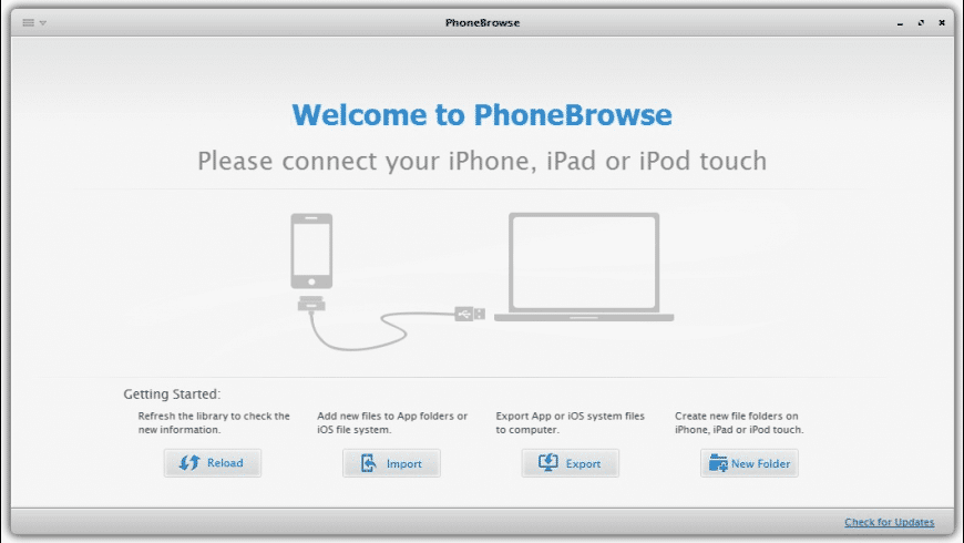 PhoneBrowse for Mac - review, screenshots