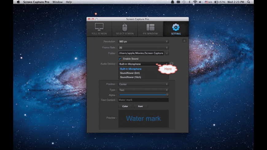 Screen Capture Pro for Mac - review, screenshots
