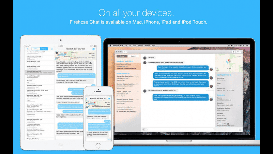 Firehose Chat for Mac - review, screenshots