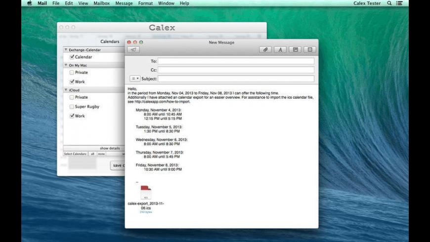 Calex for Mac - review, screenshots