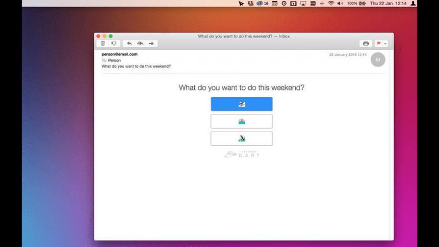 Dart for Mac - review, screenshots