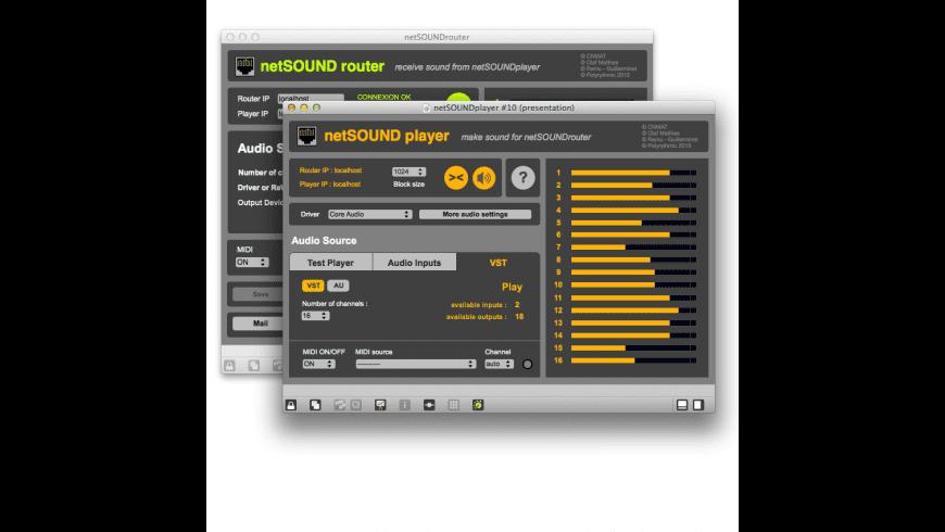 NetSOUND for Mac - review, screenshots