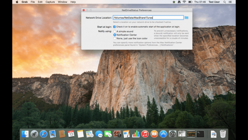 Net Drive Status for Mac - review, screenshots