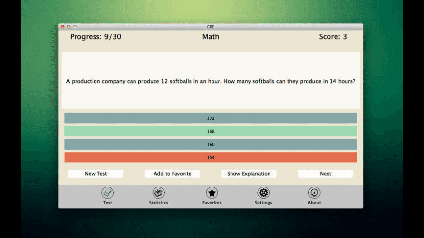 GRE for Mac - review, screenshots