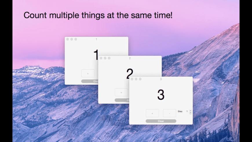 Counter for Mac - review, screenshots
