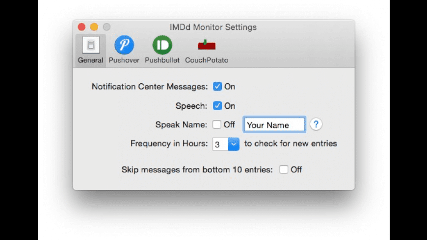 IMDb Monitor for Mac - review, screenshots