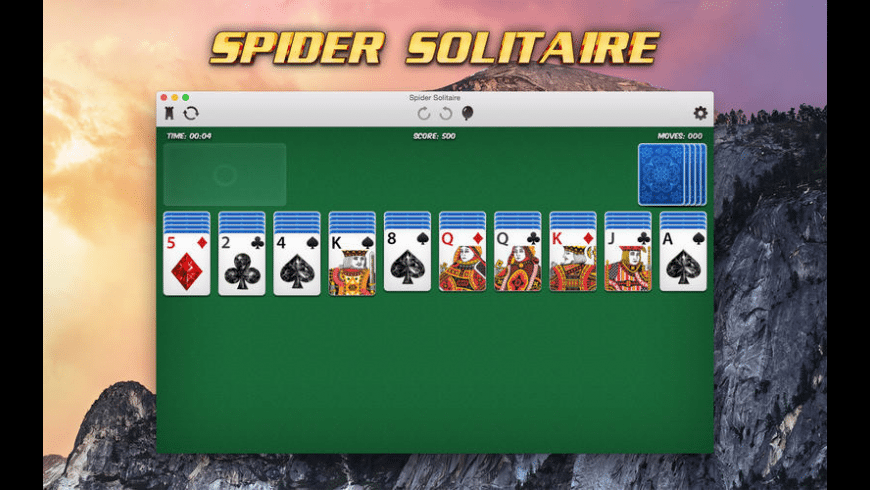 Spider Solitaire for Mac - review, screenshots