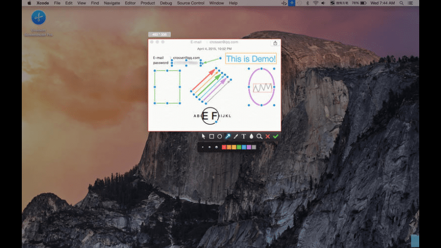 Crossoft Screenshoter Pro for Mac - review, screenshots