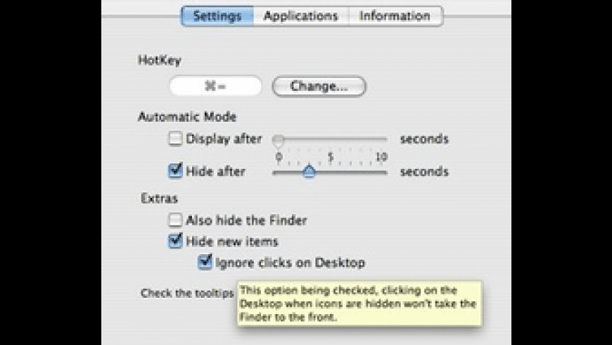 DesktopSweeper for Mac - review, screenshots