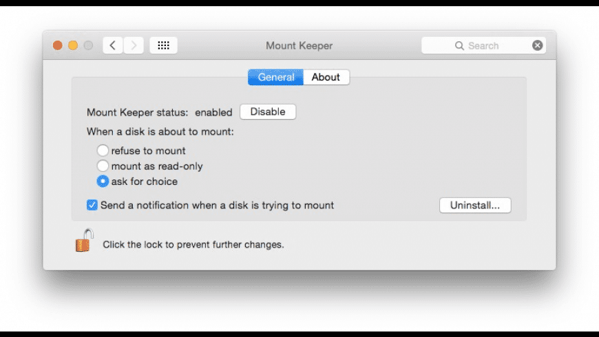 Mount Keeper for Mac - review, screenshots