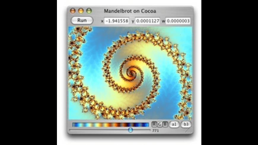 Mandelbrot on Cocoa for Mac - review, screenshots