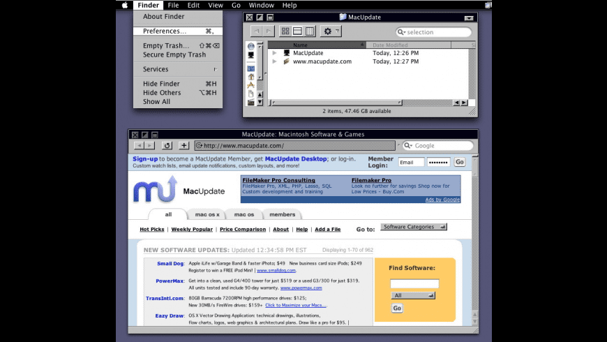 NeXT for Mac - review, screenshots