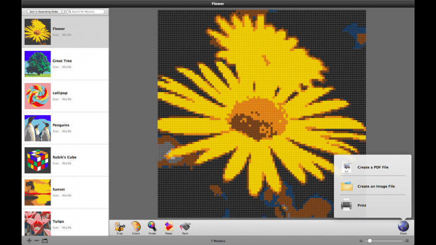 Photobricks for Mac - review, screenshots