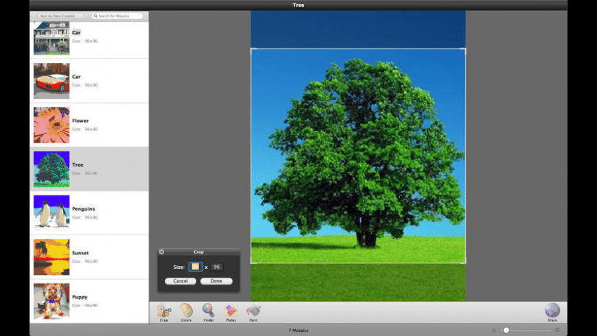 Photobricks for Mac - review, screenshots