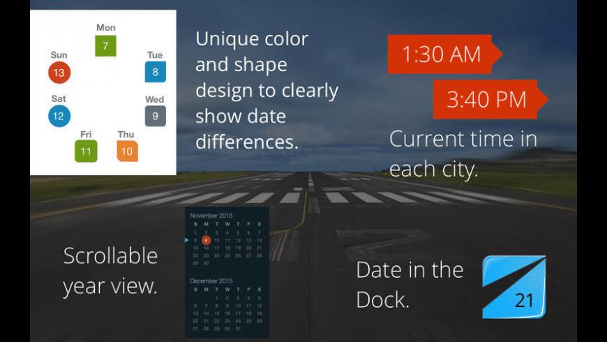 Jet calendar for Mac - review, screenshots