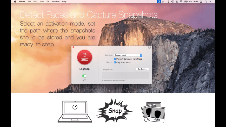 Logsnap for Mac - review, screenshots