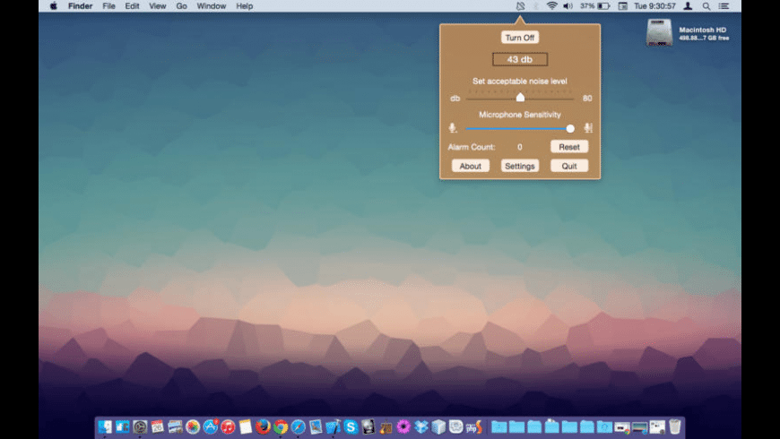 Noise Detective for Mac - review, screenshots