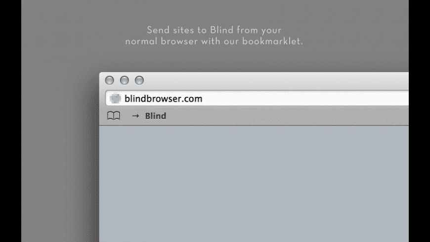 Blind for Mac - review, screenshots