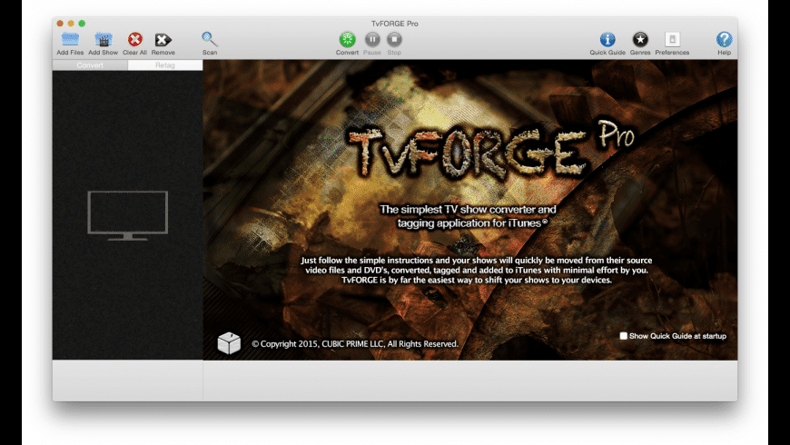 TvFORGE Pro for Mac - review, screenshots