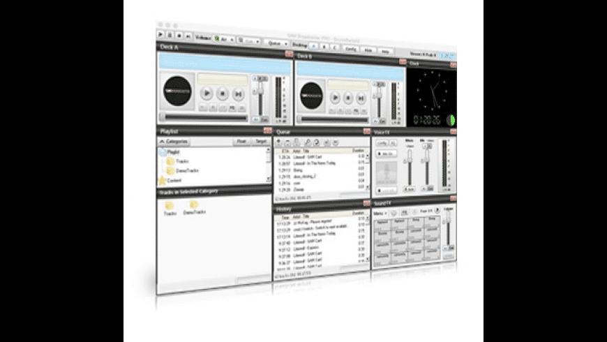 SAM Broadcaster Pro for Mac - review, screenshots