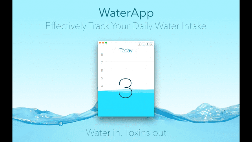 WaterApp for Mac - review, screenshots