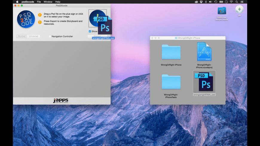 Psd2Xcode for Mac - review, screenshots
