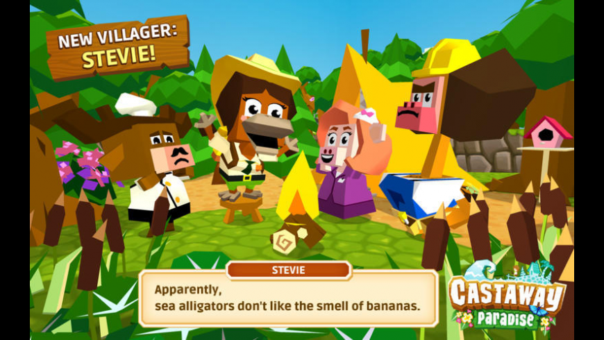Castaway Paradise for Mac - review, screenshots