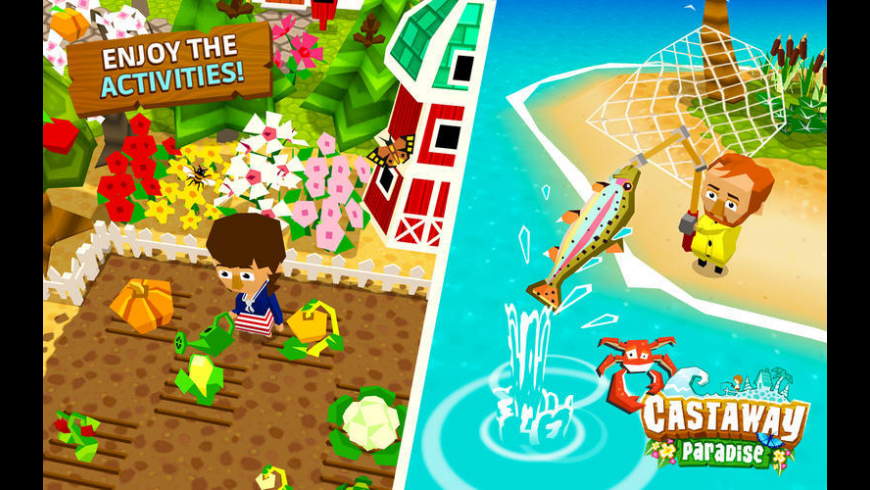 Castaway Paradise for Mac - review, screenshots