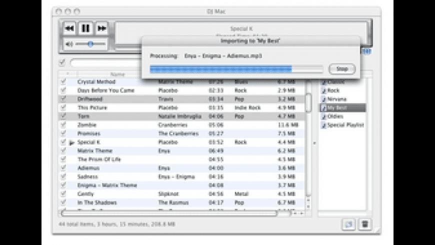 DJ Mac for Mac - review, screenshots