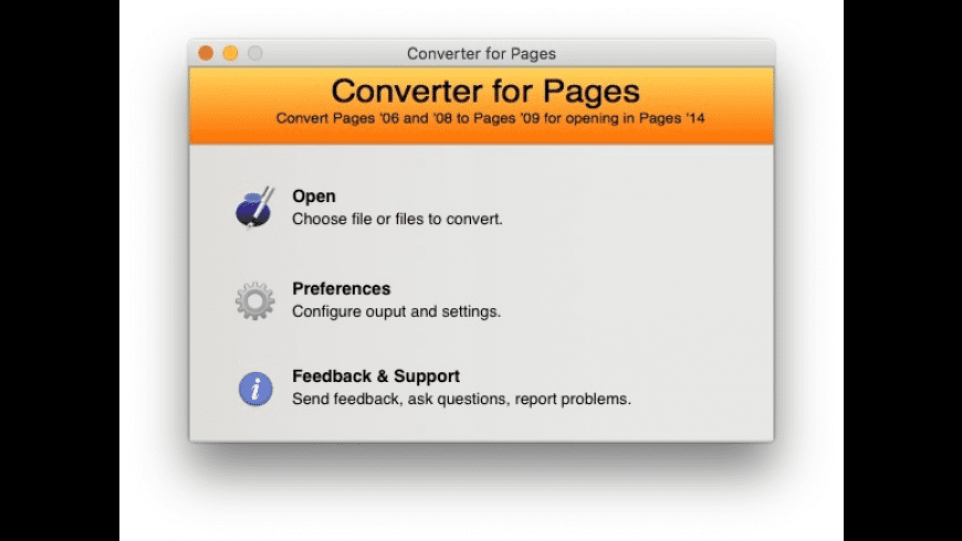 Converter for Pages for Mac - review, screenshots