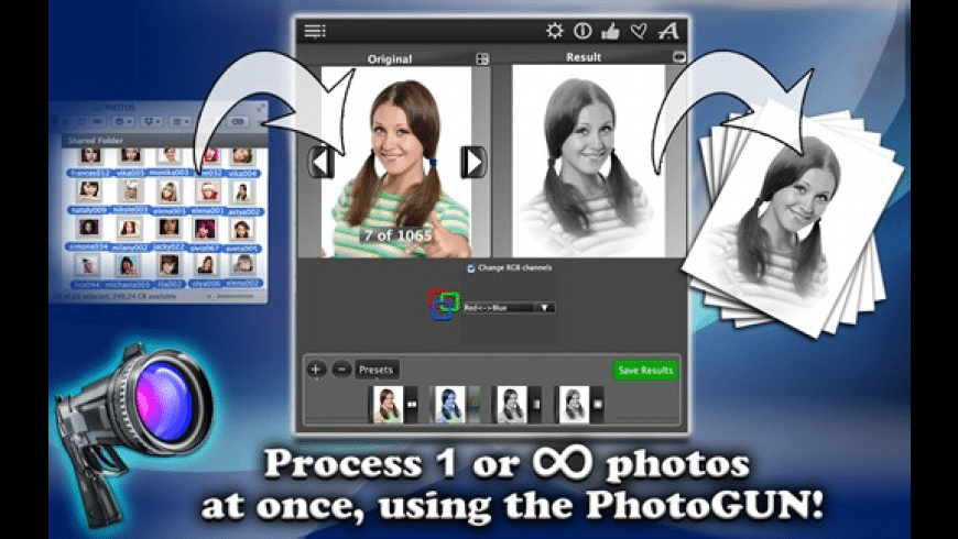 Photo GUN lite for Mac - review, screenshots