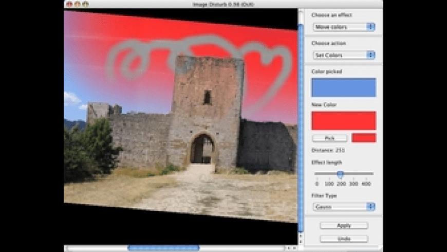 Image Disturb for Mac - review, screenshots