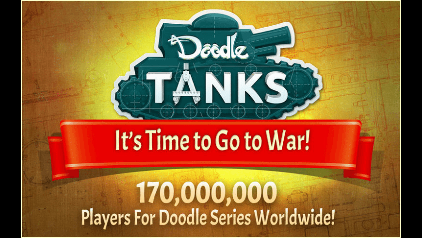 Doodle Tanks for Mac - review, screenshots