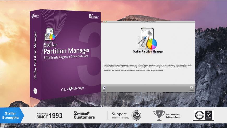 Stellar Partition Manger for Mac - review, screenshots
