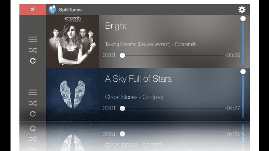 SplitTunes for Mac - review, screenshots