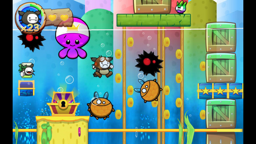 Wacoon Jump! for Mac - review, screenshots
