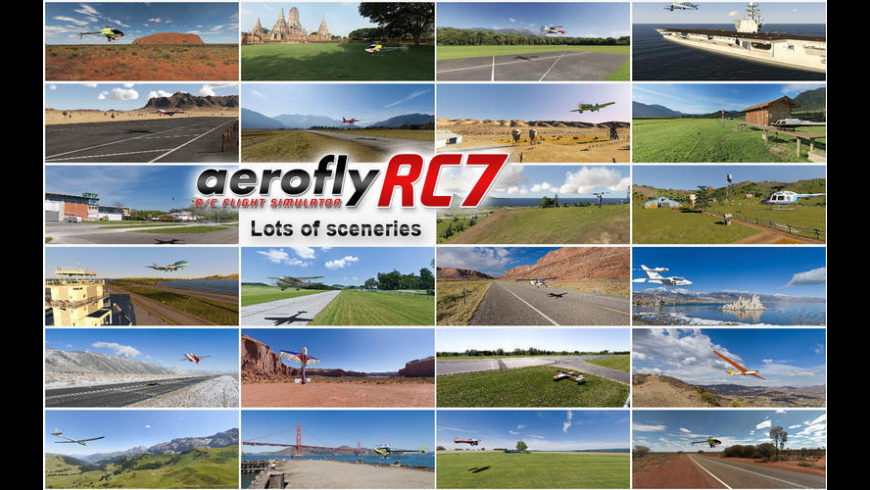 aerofly RC for Mac - review, screenshots